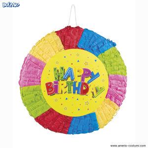 Pinata HAPPY BIRTHDAY - 40x40 cm