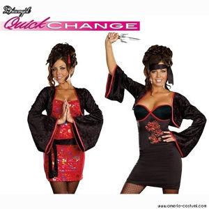 QUICK CHANGE - GEISHA->NINJA