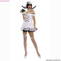 CORPSE LACE UP BACK BRIDE COSTUME