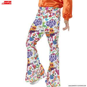 Pantaloni 60s GROOVY FLARED