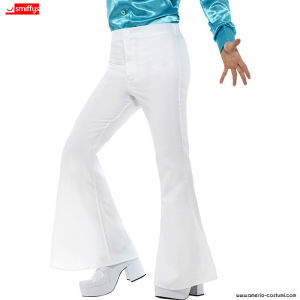 Pantaloni a ZAMPA - Bianchi