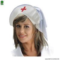 Cappello INFERMIERA in tessuto