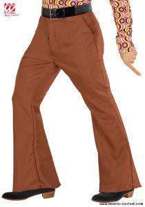 Pantaloni UOMO GROOVY 70s - Marroni