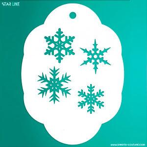 Stencil - 027 SNOWFLAKES