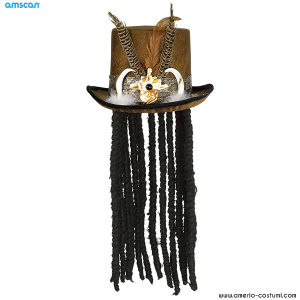 Cappello VOODOO con dreads