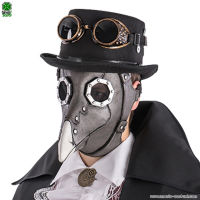 Maschera STEAMPUNK CORVO - Lattice