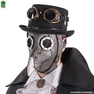 Maschera STEAMPUNK CORVO - Lattice