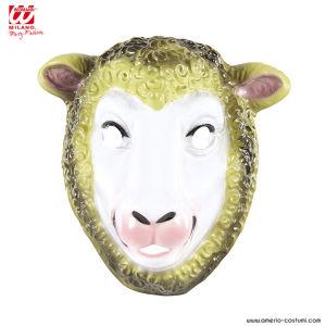Maschera PECORA in plastica