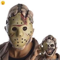Maschera JASON doppia - Adulto
