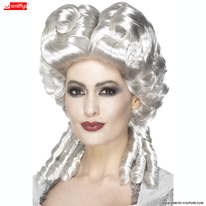 Parrucca MARIA ANTONIETTA - Bianca c76806d7c49