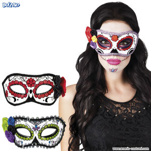 Maschera DAY OF DEAD - Donna