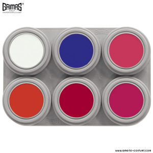 Palette 6 WATER MAKEUP - FLUO