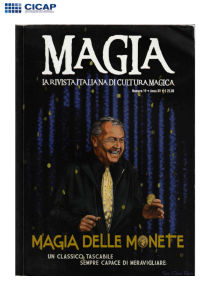 MAGIA 19 - MAGIA DELLE MONETE