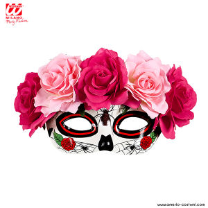 Maschera DIA DE LOS MUERTOS - Rosa