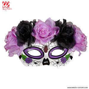Maschera DIA DE LOS MUERTOS - Viola