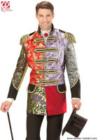 Cappotto parata JACQUARD PATCHWORK - Uomo