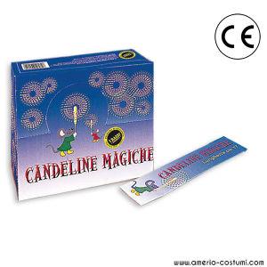 Cf. 10 CANDEL MAGICA / STELLINA - 17,5 cm