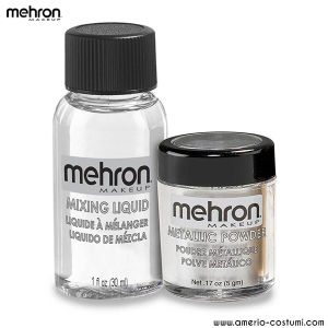MEHRON - Kit Metallic Powder - Silver