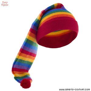 Cappello in lana ARCOBALENO