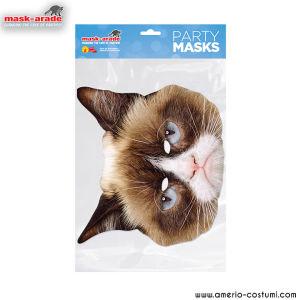 Maschera Animal - Grumpy Cat