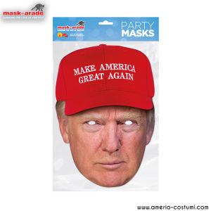 Maschera Celebrity - Donald Trump MAGA