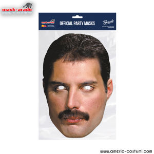 Maschera Celebrity - Queen Freddy Mercury