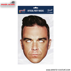 Maschera Celebrity - Robbie Williams Official