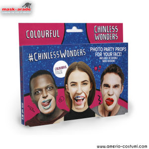 Party pack - Colourful Chinless Wonders