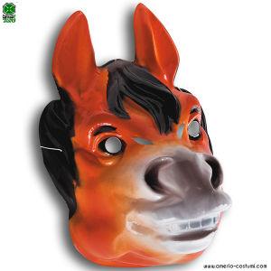 Maschera CAVALLO in plastica