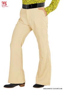 Pantaloni UOMO GROOVY 70s - Beige