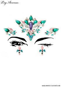 Face Jewels Sticker - ARIA