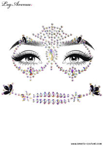 Face Jewels Sticker - CALAVERA