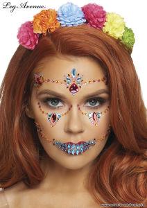 Face Jewels Sticker - DOTD