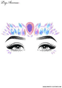 Face Jewels Sticker - FREESIA