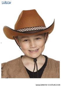 Cappello Cowboy Jr - Marrone