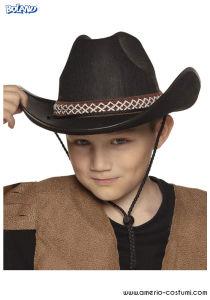 Cappello Cowboy Jr - Nero