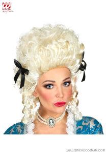 Parrucca Coloniale Donna - Avorio