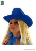 Cappello TEXAS in feltro - Blu
