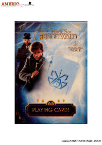 Fantastic Beast Playing Cards