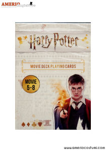 Harry Potter Movies deck - 1-4