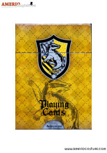 HP - Hufflepuff Playing cards