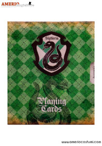 HP - Slytherin Playing cards