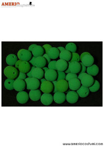 "Noses Balls Regular x50 - 2"" - Green"