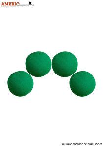 """Sponge Balls HD Ultra Soft x4 - 1.5"""" - Green"""