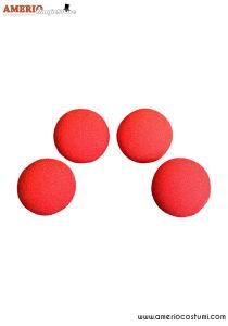 """Sponge Balls HD Ultra Soft x4 - 1.5"""" - Red"""