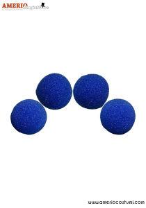 """Sponge Balls HD Ultra Soft x4 - 2"""" - Blue"""