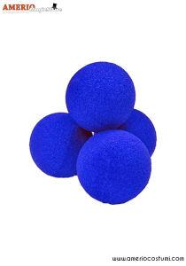 "Sponge Balls Super Soft x4 - 2"" - Blue"