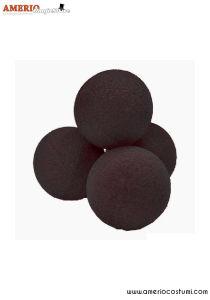 """Sponge Balls Super Soft x4 - 3"""" - Black"""
