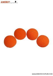 """Sponge Balls Super Soft x4 - 3"""" - Orange"""