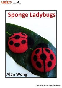Sponge Ladybugs